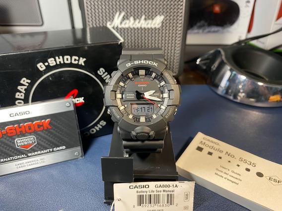 Reloj Casio G-shock Ga-800 Analógico Digital Full Set