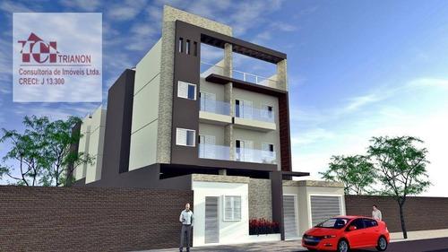 Imagem 1 de 7 de Apartamento Com 2 Dormitórios À Venda, 47 M² Por R$ 265.000,00 - Santa Maria - Santo André/sp - Ap3238