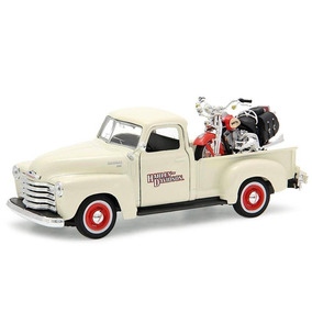 Chevrolet 3100 Pickup 1950 + Moto Flsts Heritage Springer