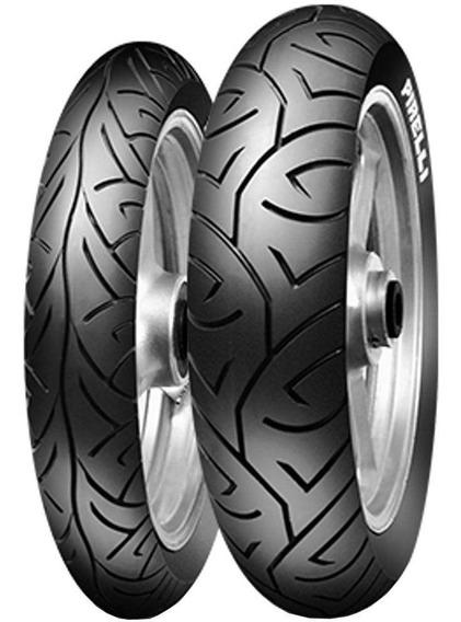 Par Pneu 100/80-17 52s + 140/70-17 Sport Demon (r) Pirelli