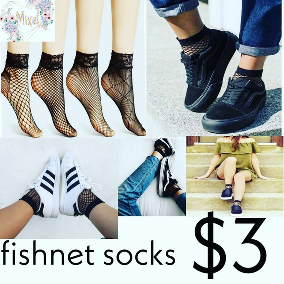 Complementa Tus Outfit Con Nuestras Fishnet Socks .