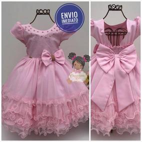 Vestido Rosa Luxo
