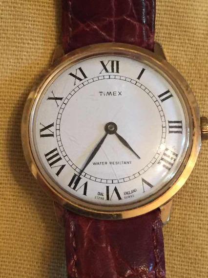 Reloj Timex Inglés De Cuerda