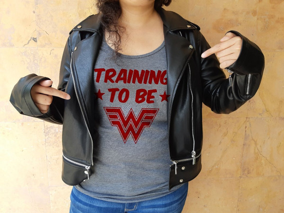 Playera Wonder Woman, Mujer Maravilla, Trainning