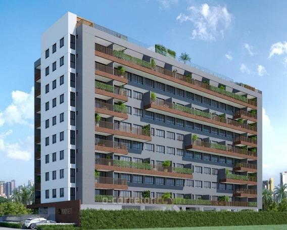 Apartamento Em Manaíra, João Pessoa/pb De 65m² 1 Quartos À Venda Por R$ 258.280,00 - Ap259967