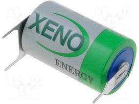 Bateria Xeno Xl-050f T3eu/r Ls14250 3,6v 1/2aa C 3 Terminais