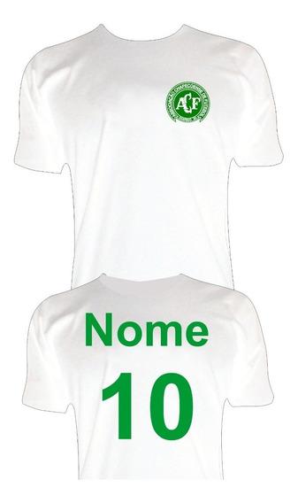 Camiseta Chapecoense Personalizada Com Seu Nome E Número