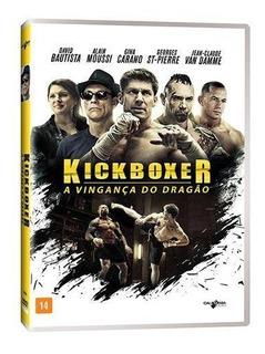 Dvd - Kickboxer - A Vingança Do Dragão - Van Damme * Dublado
