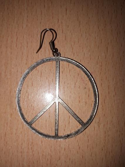 Aros Peace Paz Plateados