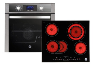 Combo General Electric Horno Hege6054i Y Anafe Aege62pv