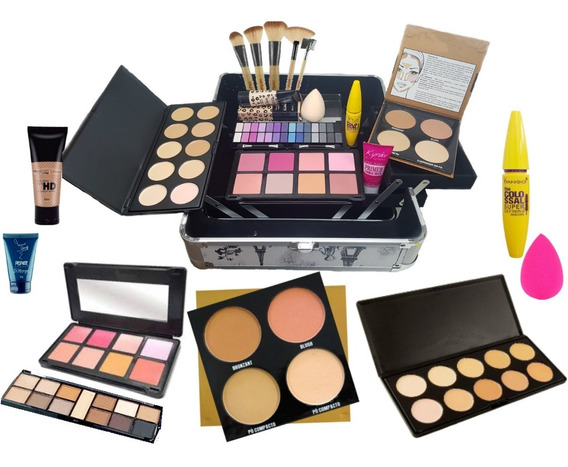 Maleta Extra Grande + Kit Essencial Maquiagem - Oferta