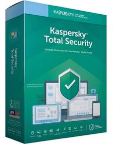Kaspersky Total Security 3 Disp. 2 Ano 2019 Entrega Em 30min