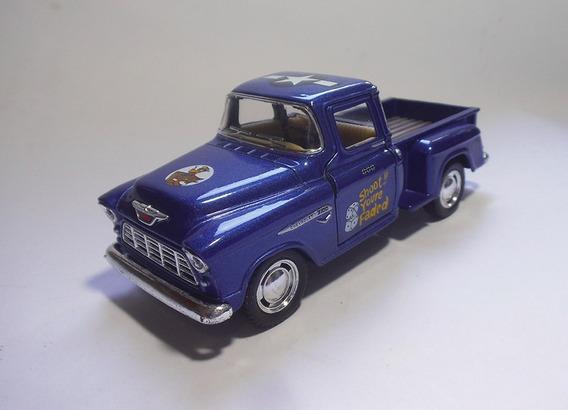1955 Chevy Stepside Us Army - 1/32 - Kinsmart - Custom