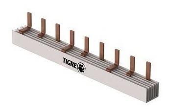 Barramento Tipo Pente Trifasico De Fase 12 Ligações Tigre