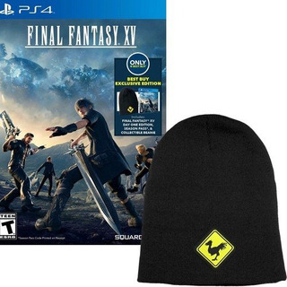 Playstation Final Fantasy Xv With Collectible Beanie And Sea