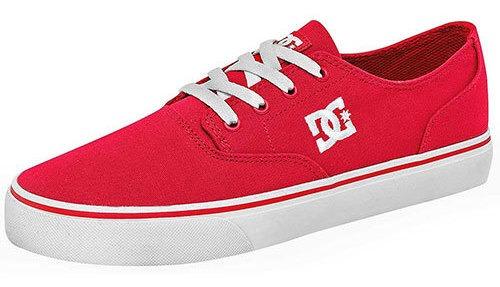Tenis Hombre Pk 60297 Dc Shoes Rojo