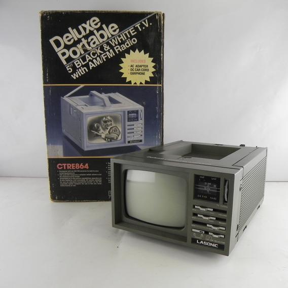 Rádio Portátil 5 Antigo Broksonic Acompanha Caixa Original Ctre864 - Usado C/ Defeito