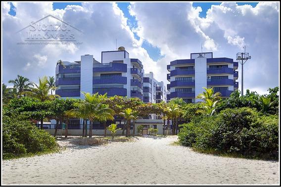 Apartamento Pé-na-areia Para Locação Com 2 Quartos (1 Suíte) No Maitinga Em Bertioga. - Ap00226 - 34392981