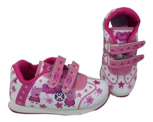 Zapatillas De Nena Pepa Pig Abrojo Cuotas S. Intereses