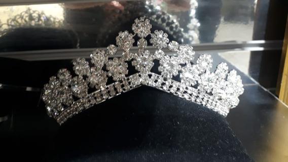 Linda Coroa Noiva Debutantes Casamento Cravejada Swarovisk