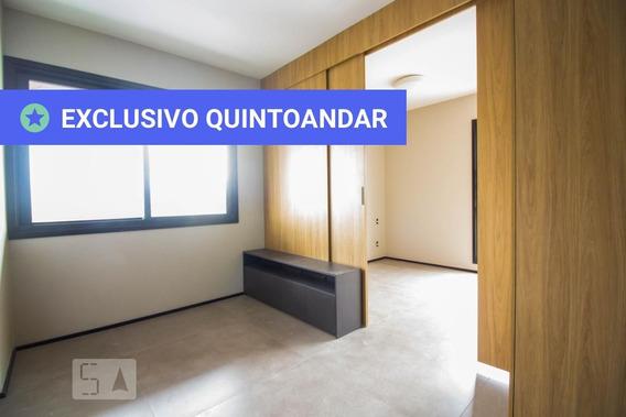 Apartamento No 9º Andar Com 1 Dormitório E 1 Garagem - Id: 892985034 - 285034