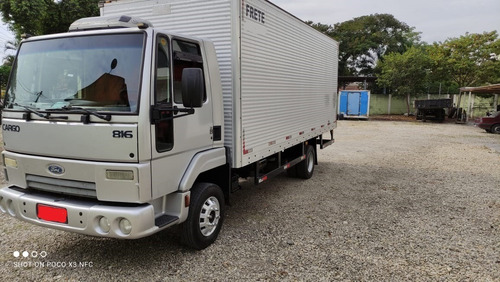 Ford Cargo 816, Baú 2013, Unico Dono, *impecavel*.