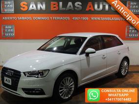 Sba Anticipo! Audi A3 1.8t 2013 Fsi Stronic Sensor Camara 5p