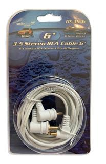Cable Audiopipe Miniplug A Rca 3.5 Mm 180cm Ip-35-6