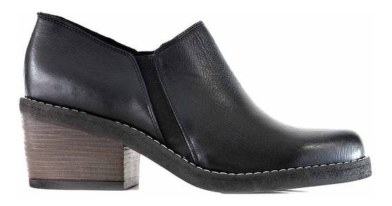 Clásico Cuero Mujer Zapatos Briganti Goma Moda Mccz33082
