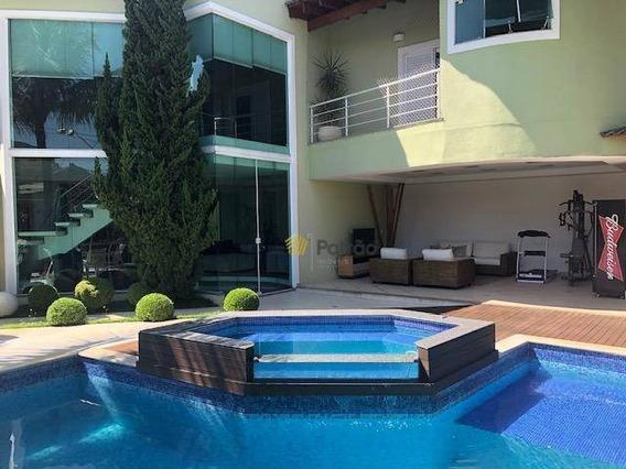 Parque Passaros Top 4 Dormitórios À Venda, 500 M² Por R$ 2.800.000,00 - Parque Dos Pássaros - São Bernardo Do Campo/sp - Ca0323
