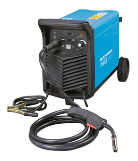 Soldadora Electrica Gamma 120 Mig Mag Alambre Co2 Monofasica