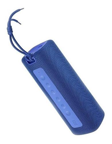 Imagen 1 de 3 de Parlante Xiaomi Mi Portable Bluetooth Speaker (16W) portátil azul