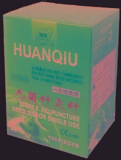 Aguja Huanqiu 0.20x13mm Con Tubo, Asa Acero