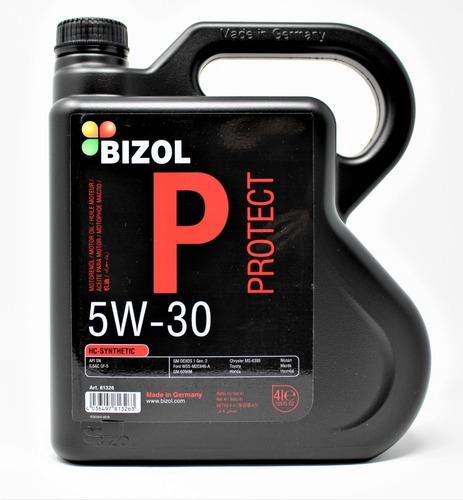Imagen 1 de 4 de Aceite Sintético 5w-30 Hc - Bizol (4 Litros)
