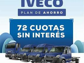 Plan De Ahorro Iveco 100% Financiado 72 Cuotas Sin Interes