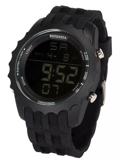 Relógio Masculino Digital Original Potenzia 18k Ronaldinho
