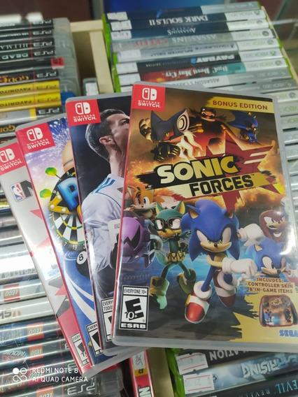 Lote 4 Jogos Originais Nintendo Switch Frete Gratis!