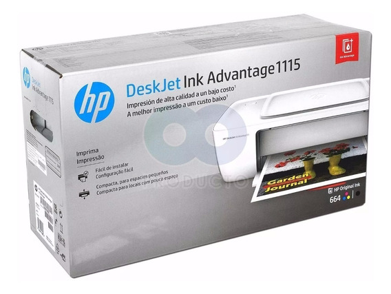 Impressora Hp Deskjet Ink Advantage 1115 Jato Tinta (sem Juros)