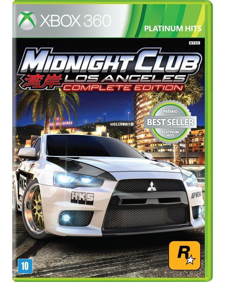 Midnight Club Los Angeles Complete Edition Xbox 360 Hits