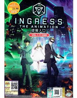 Ingress : The Animation Serie Dvd 11 Episodios