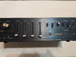 Amplificador Estereofonico Continental Ca-1060 Usado Ver...