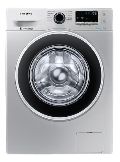 Lavarropas Autom Samsung Frontal 7 Kg Inverter Ww70j4463gs