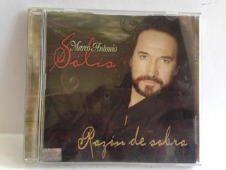 Cd Marco Antonio Solís Razón De Sobra 100% Original