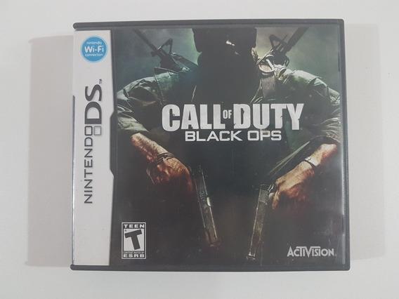 Capa Call Of Duty Black Ops Original Para Nintendo Ds