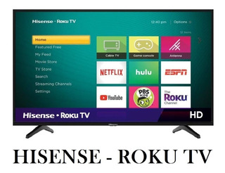 Tv Hisense 32 Class Hd Roku Smart Led Nueva