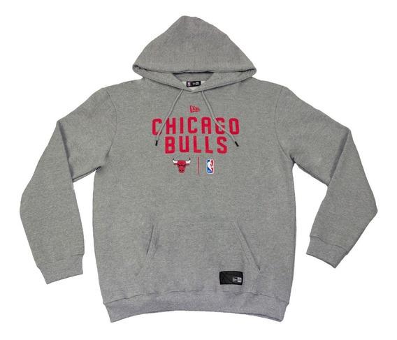 Blusa Moletom Big Plus Size New Era Chicago Bulls (g4)