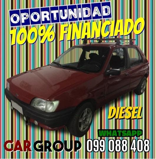Ford Fiesta Diesel 1.8 Año 93 100% Financiado Sin Entrega