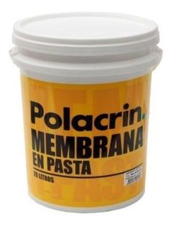 Membrana En Pasta Polacrin 10lt.+ Pincelnº10 + 1lija Oferta