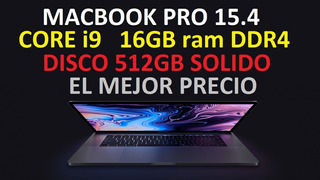 Macbook Pro I9 Touch Bar Con Dias De Uso ! $245mil Pesos .