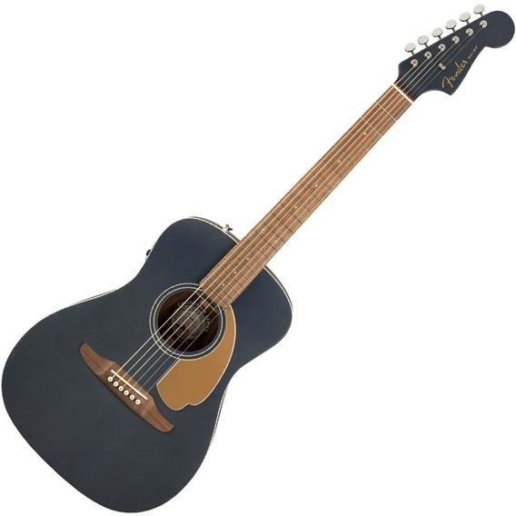 Violão Fender Malibu Player Eletroacústico Midnight Satin